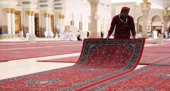 رئاسة شؤون المسجد النبوي تكمل استعداداتها لاستقبال رمضان