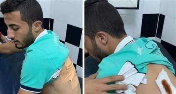 طعن لاعب الوداد المغربي قبل نهائي دوري الأبطال