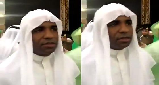 بعد إشهار إسلامه.. البرازيلي سيرجيو يتواجد في الحرم المكي (فيديو)