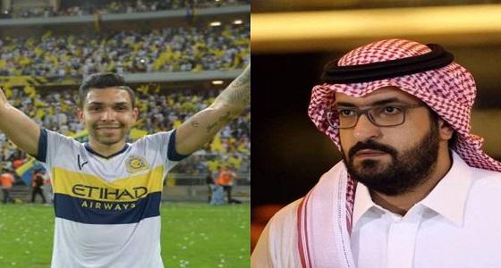 """بيتروس لـ سعود آل سويلم: """" شكرًا لإنقاذنا """""""
