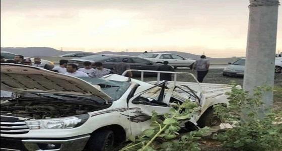 مصرع مواطن جراء انقلاب مركبته بطريق العارضة – أبو عريش