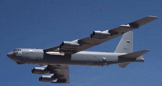 """بالفيديو.. أول تحليق لقاذفة استراتيجية أمريكية من نوع """" بي 52 """""""