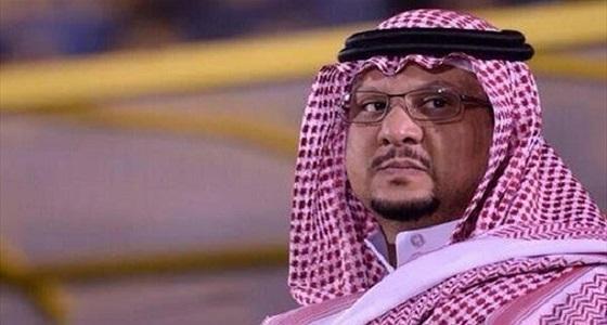 فيصل بن تركي: أتمنى استمرار السويلم وظروفي الحالية لا تسمح للترشح