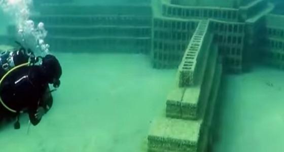 بالفيديو.. أول متحف سعودي تحت الماء يضم معالم الخليج بالشرقية