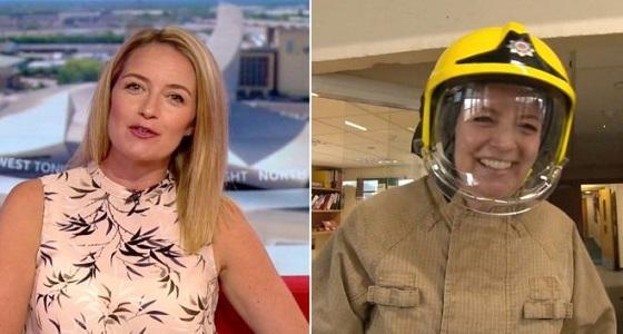 """مذيعة الـ """" بي بي سي """" تترك الإعلام وتتجه لإطفاء الحرائق"""