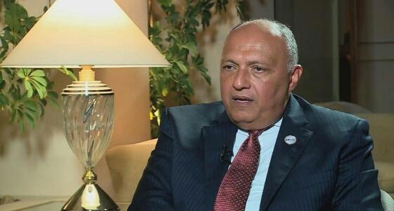 وزير الخارجية المصري: الأزمة مع قطر مستمرة
