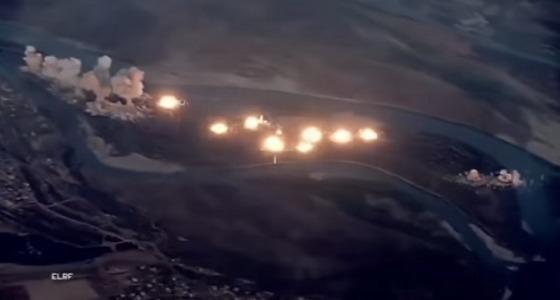 بالفيديو.. لحظة تدمير جزيرة داعش الموبوءة