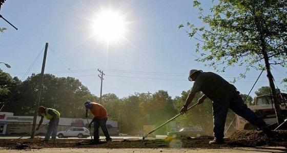 العمل: اليوم نهاية حظر العمل تحت آشعة الشمس