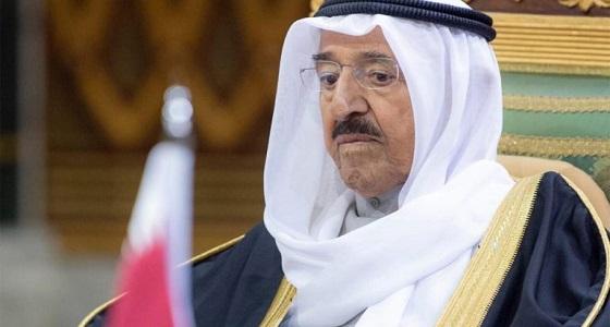 شاهد.. الظهور الإعلامي الأول لأمير الكويت بعد تعافيه