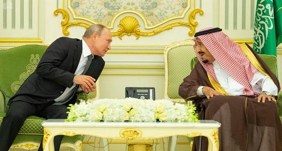 الرئيس الروسي يفعل أمر نادر الحدوث في الرياض