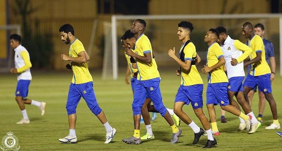 بالصور.. النصر يختتم استعداداته لمباراته في الكأس غدًا