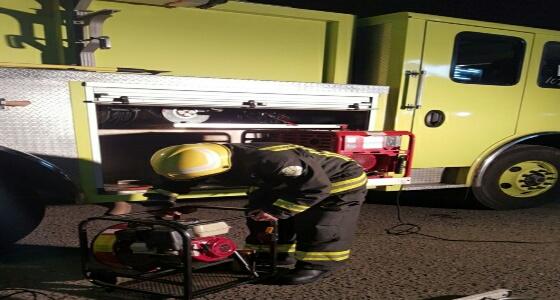 اندلاع حريق بمنزل في حائل بسبب جهاز جوال