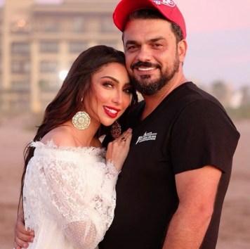 دنيا بطمة ومحمد الترك يعيشان لحظات رومانسية