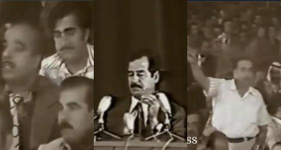بكاء ونحيب أعضاء «البعث» بعد نجاتهم من مجزرة الرفاق (فيديو نادر)