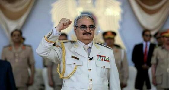 حفتر يحدد موعد وقف إطلاق النار في ليبيا