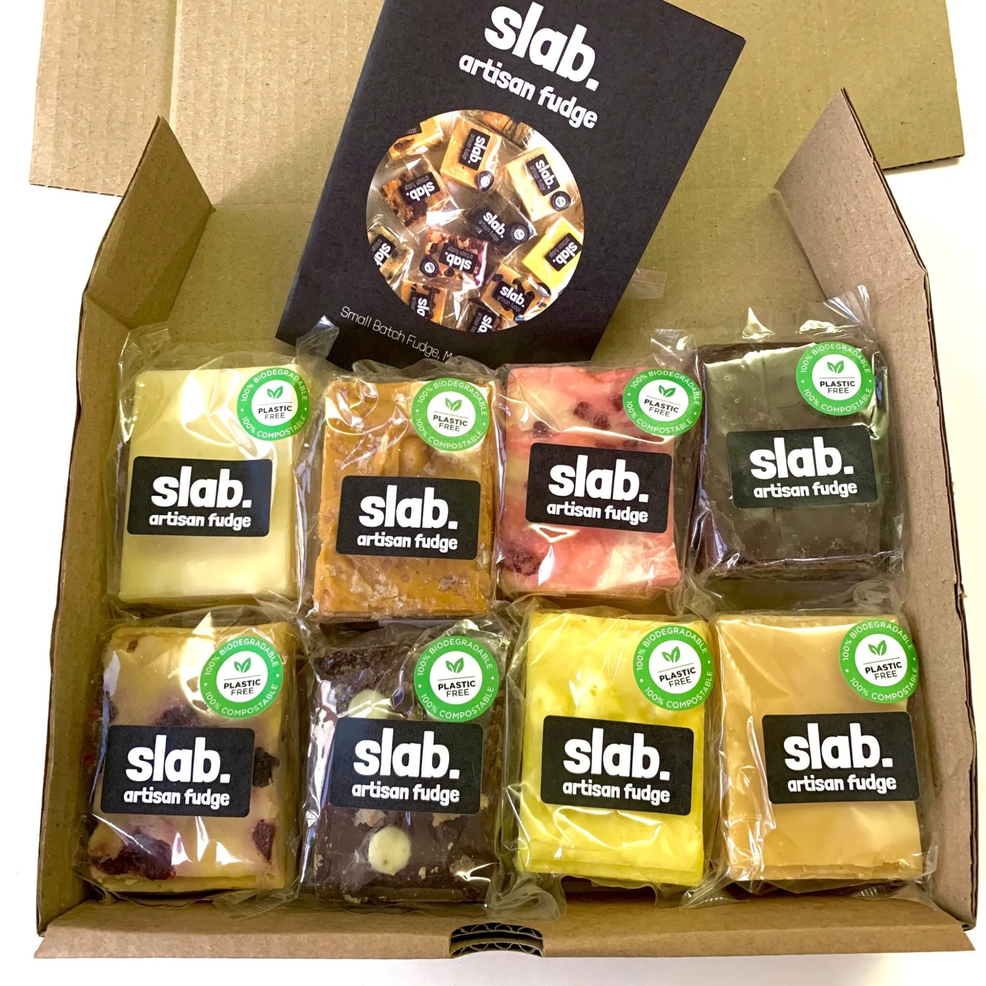 Slab Artisan Fudge - Dairy Postal Box