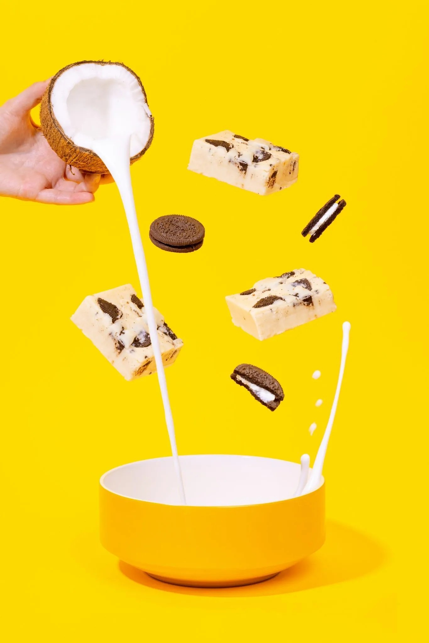 Slab Artisan Fudge - Cookies + Cream