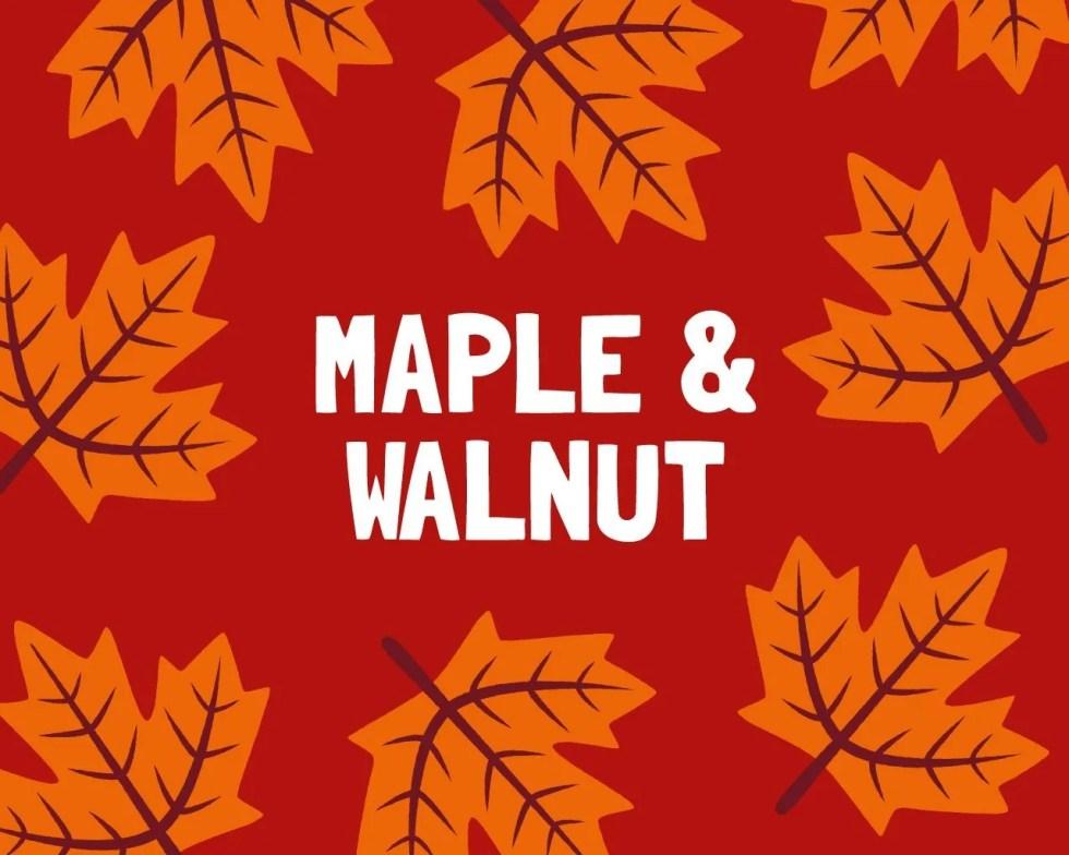 Slab Artisan Fudge - Maple & Walnut Flavour Graphic