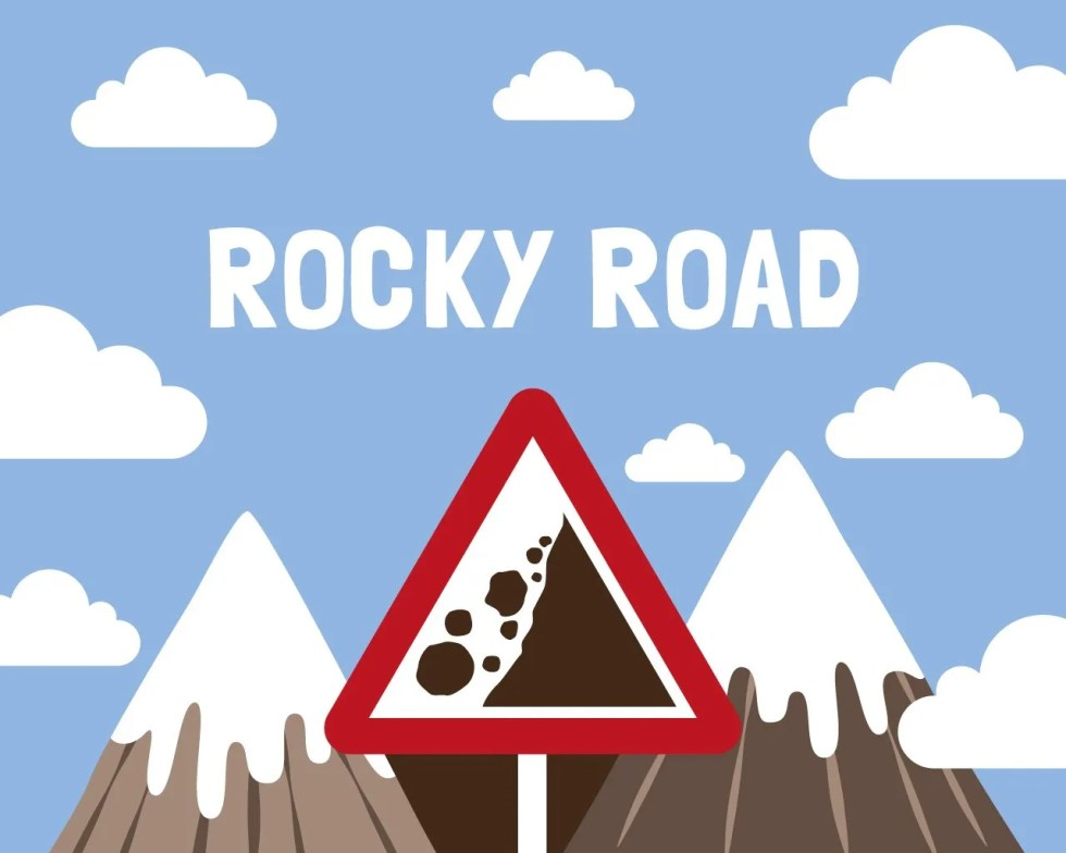 Slab Artisan Fudge - Rocky Road Flavour Graphic