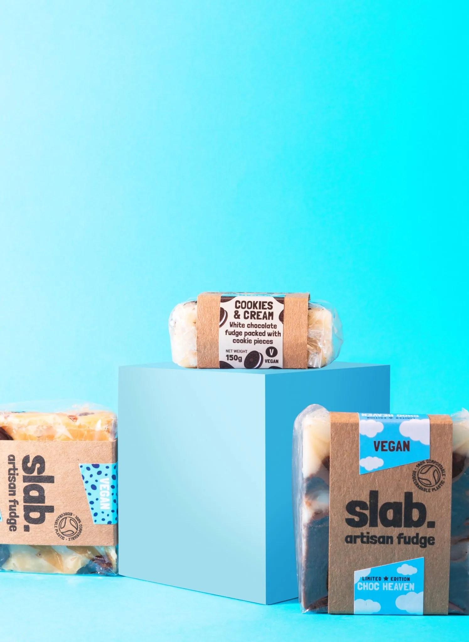 Slab Artisan Fudge Creative Photo - Vegan Stand