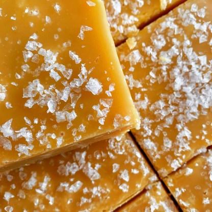 Slab Artisan Fudge - Unwrapped Vegan Sea Salted Caramel