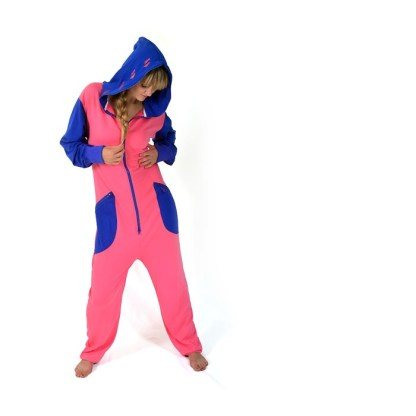 Baggy onepiece i Pink