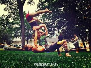 lindsikay vuddy thomas slackrobats yogaslackers acrolining slacklining slackline acroyoga acro