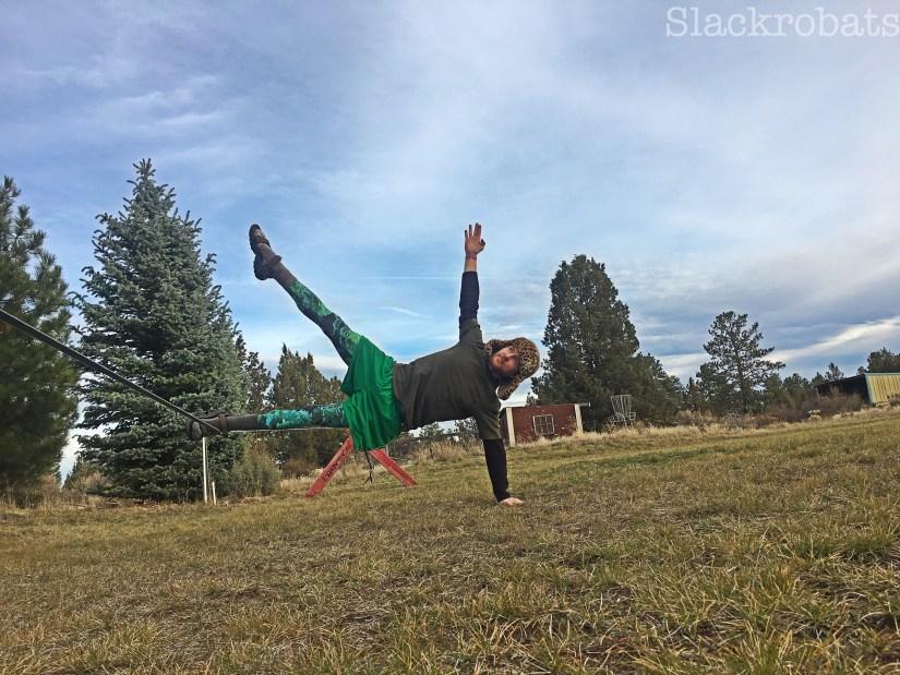 Side Plank- On the line -raised leg