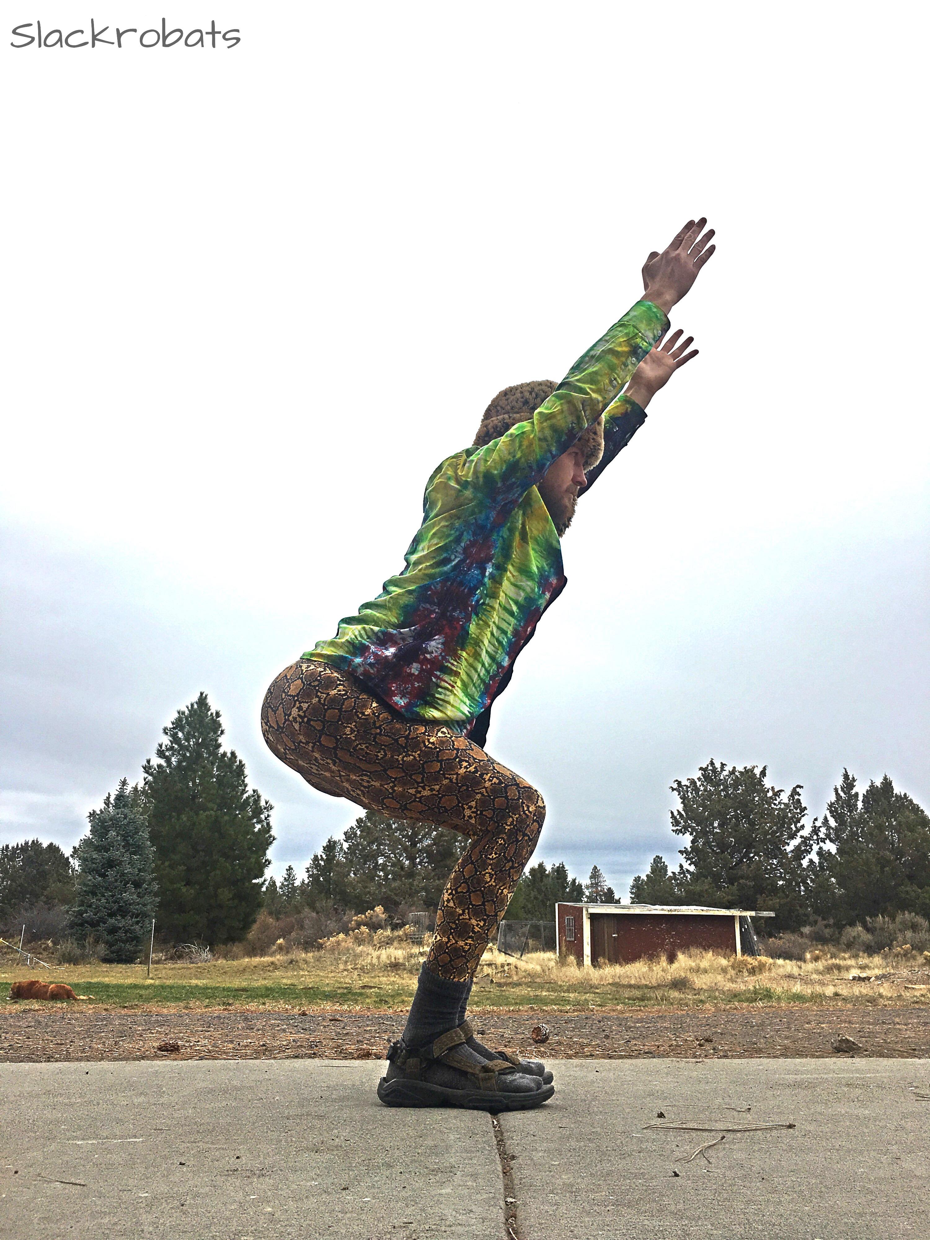 Slackrobats AcroYoga Warm-Ups 6 Leg Warm-Ups For Bases