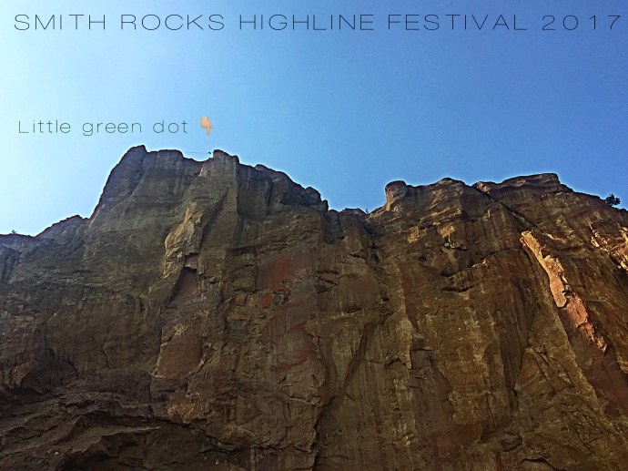 Smith Rock Highline Festival 2017 - SLACKROBATS