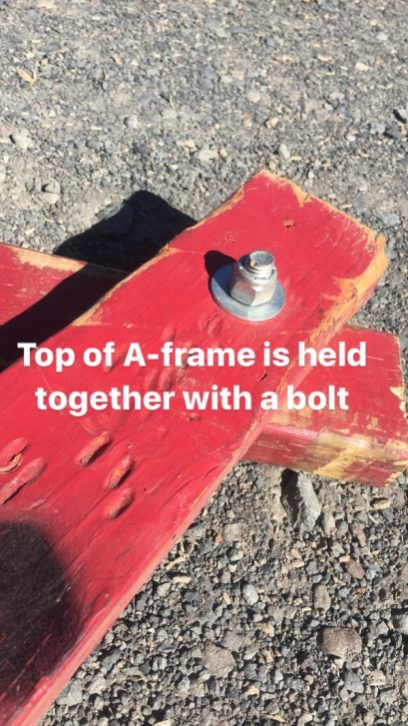 How To Build A Simple Slackline A-Frame - SLACKROBATS