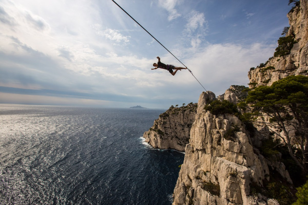Q + A: Friedi Kühne, Longest Free Solo Highline World Record Holder