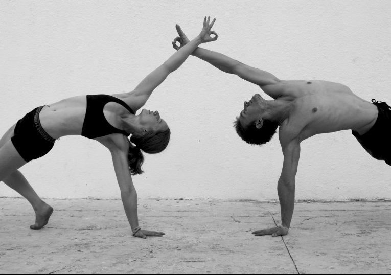 Slackrobats partner yoga quotes