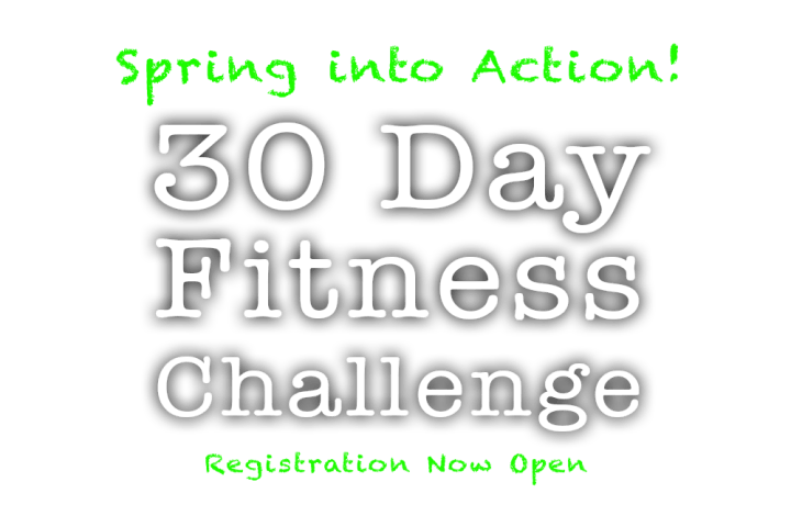 30 Day Fitness Challenge -