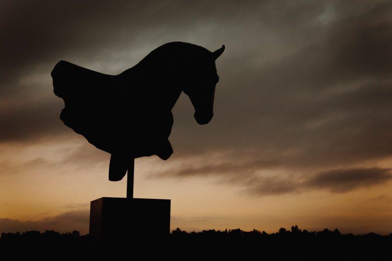 Nic Fiddian-Green Equestrian Sculpture