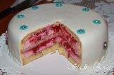 malinová torta - sladký život