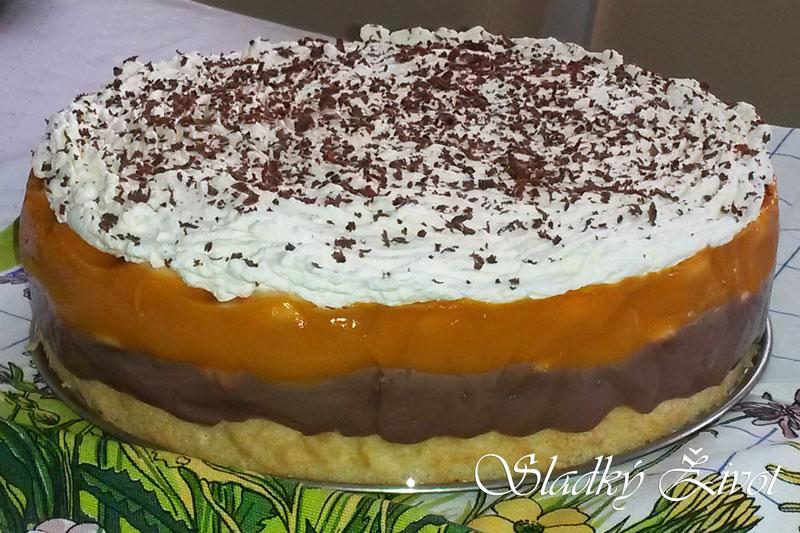 marholová torta