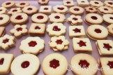 Linecké koláčiky, drobné vianočné pečivo