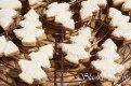 Kokosové stromčeky s lekvárom