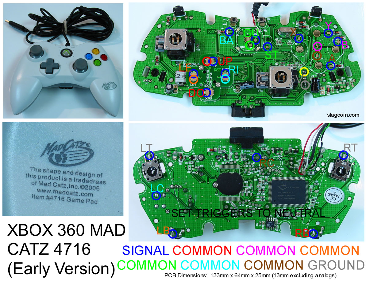 360 Controller Wire Diagram