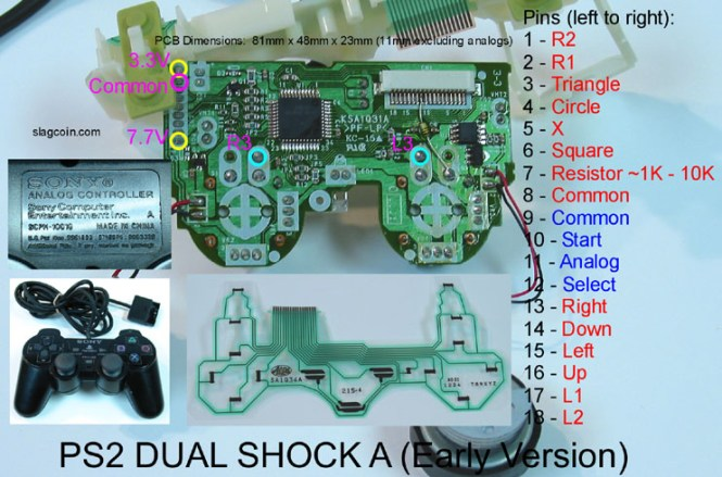 playstation to usb wiring diagram wiring diagram ps2 controller wiring diagram usb schematics and diagrams