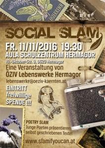 Flyer Social Slam