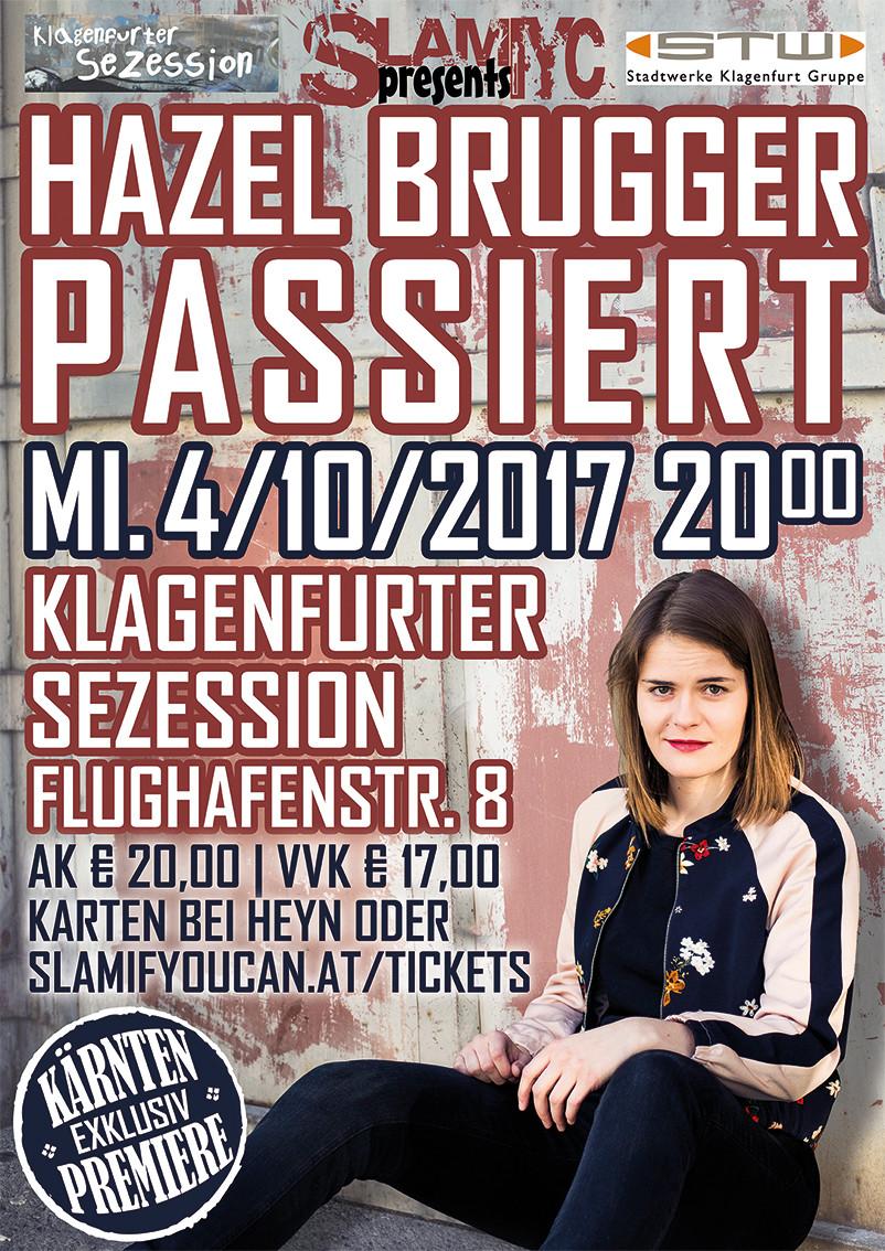Hazel Brugger Flyer