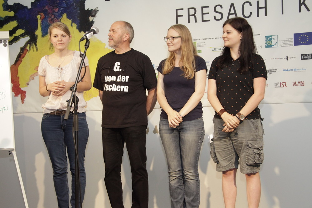Estha Sackl, Gerhard Pleschberger, Patricia Radda, Sabrina Öhler (vlnr)