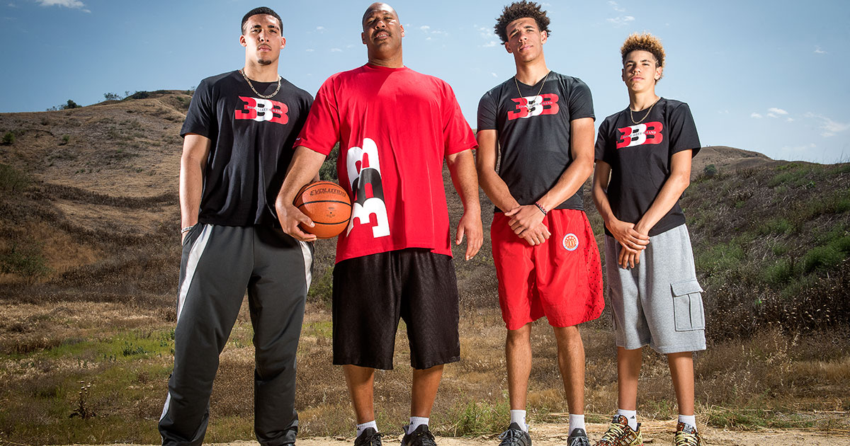 Image result for lonzo ball family