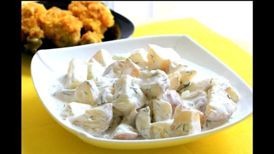 aardappeldieet met yoghurt