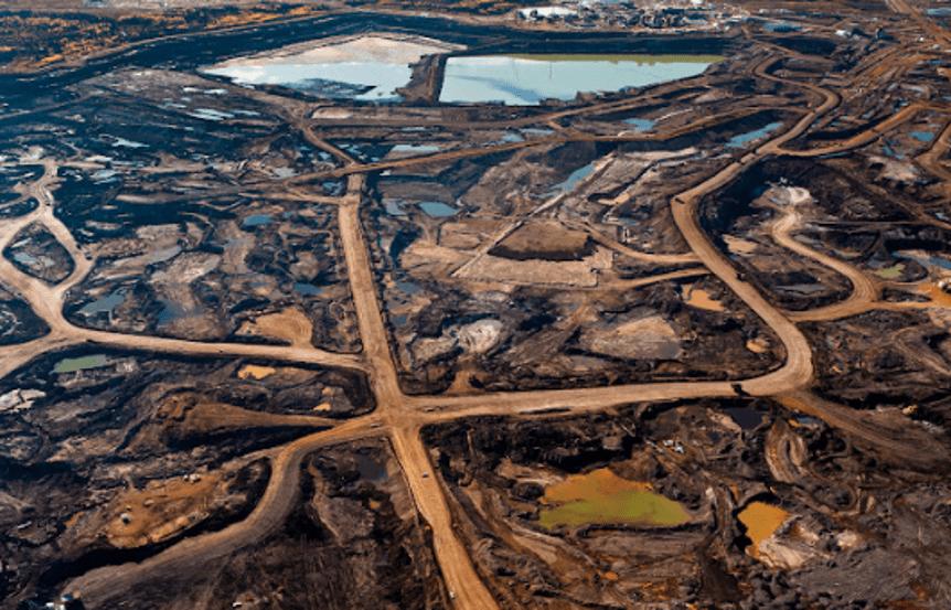 Alberta tar sand mines - Hell-fire