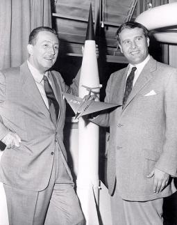 Walt Disney & Wernher von Braun