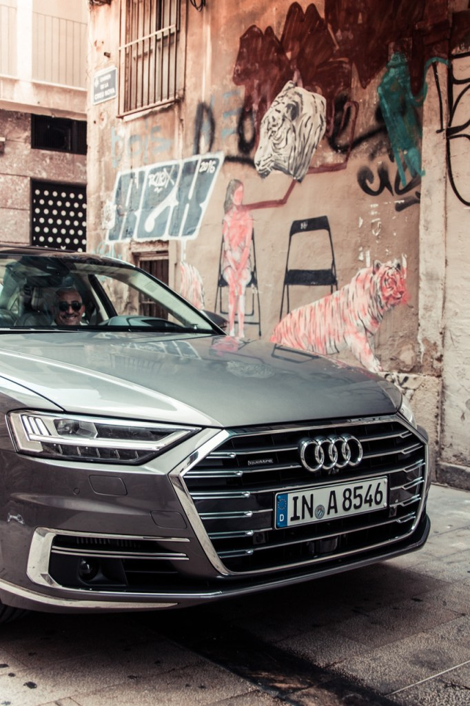 Audi A8 in Valencia - Front End