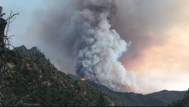 Ferguson Fire - Climate Change